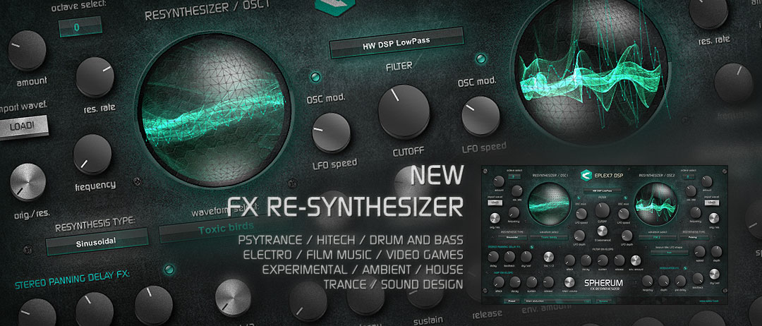 Spherum FX VST Synthesizer plug-in