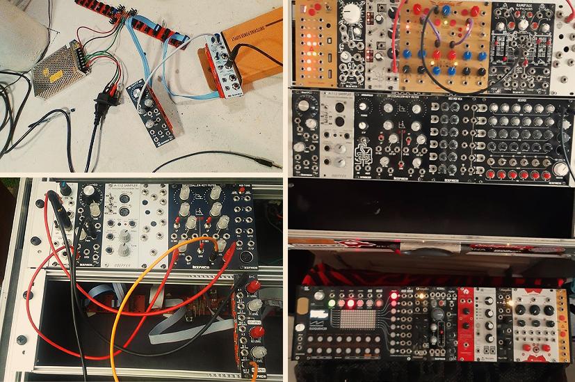 Analog modular synthesizer development