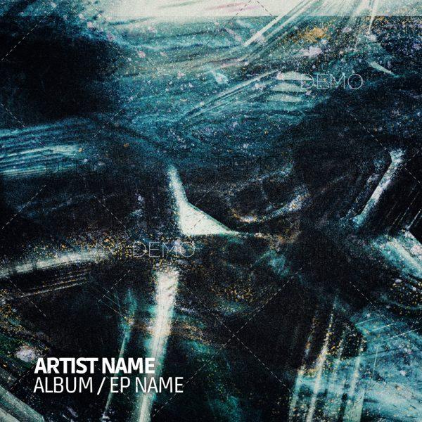 Dark techno cover artwork for sale