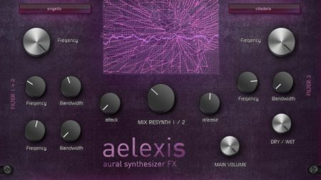 Aelexis Aural vocoding futuristic synthesizer VST effect plug-in from Eplex7