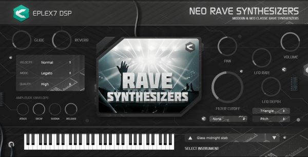Eplex7 Rave synths 1 plugin instrument old-school 90s & modern rave synths and leads