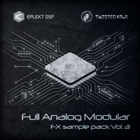 Analog modular synthesizer samples