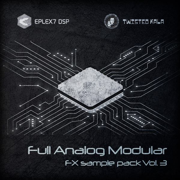 Analog modular synthesizer samples