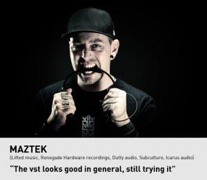 Maztek testimonial