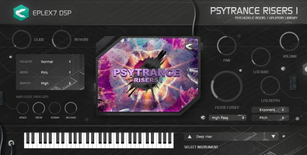 Psytrance Risers 1 plugin instrument