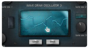 Real time Wavedraw oscillator