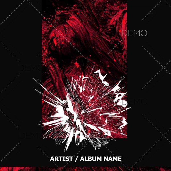 Techno cover artwork for sale